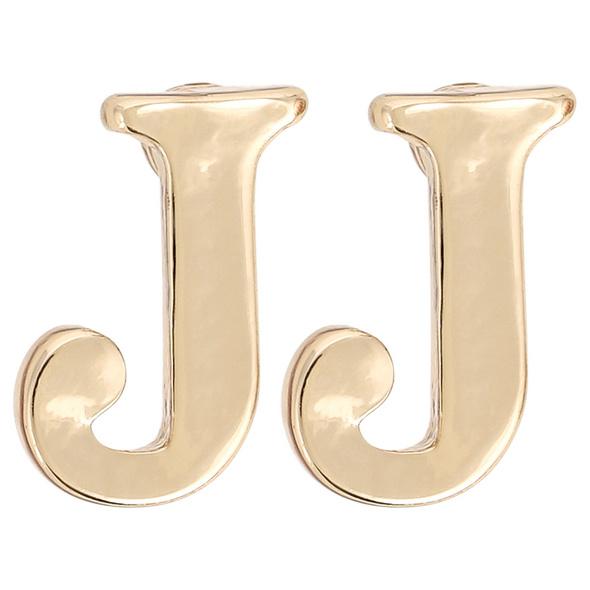 Ohrstecker - Golden J