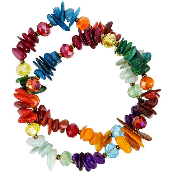Armband-Set - Colored Sea