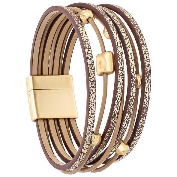 Armband - Matte Gold