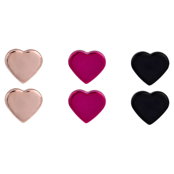 Ohrstecker - Glossy Heart