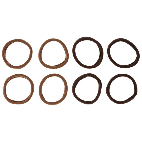 Haargummi-Set - Brown