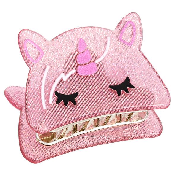 Kinder Haarspange - Biting Unicorn