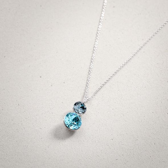 Kette - Blue Crystal