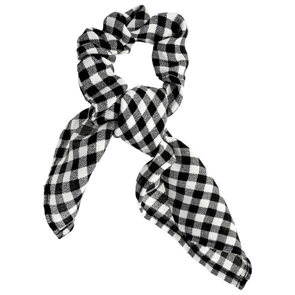 Haargummi - Black & White