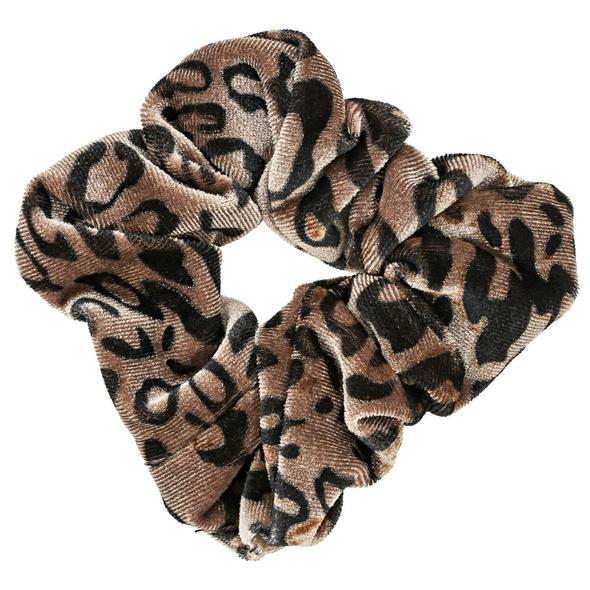 Haargummi - Leopard Scrunchi