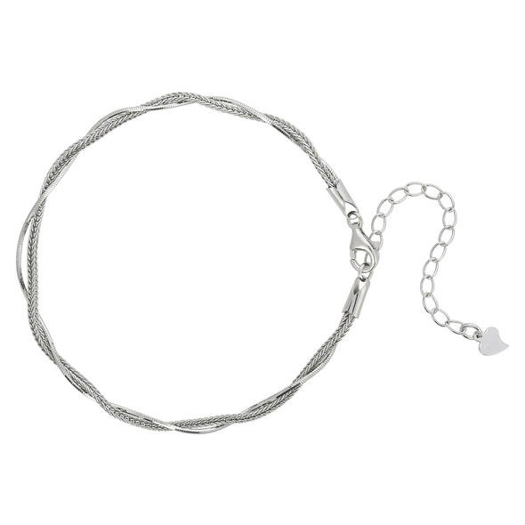 Armband - Double Silver