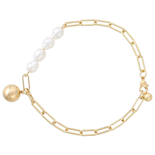 Armband mit Anhänger - Charming Pearl