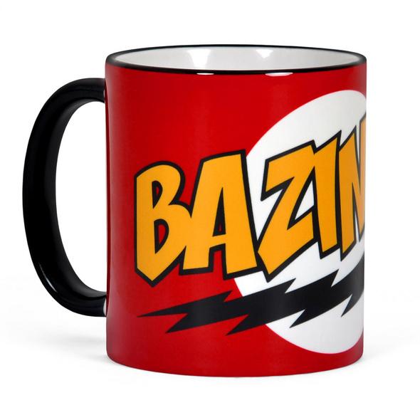 Big Bang Theory- Bazinga Full Size Tasse rot