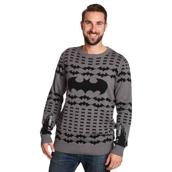Batman - Logo Strick Pullover Herren