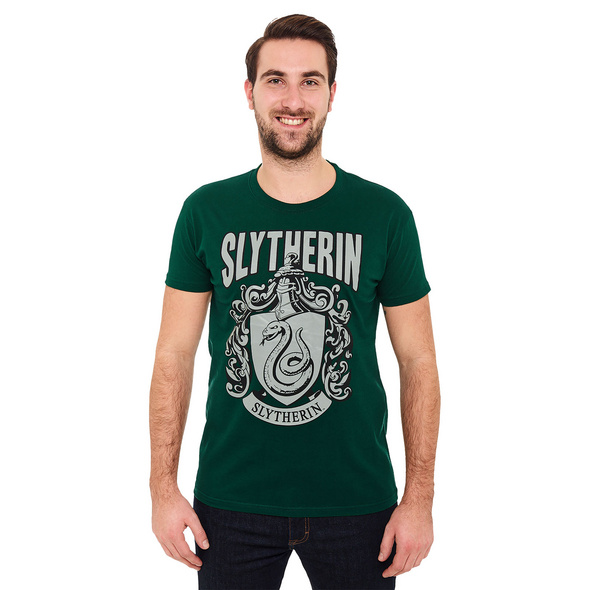 Harry Potter - Slytherin Wappen T-Shirt grün