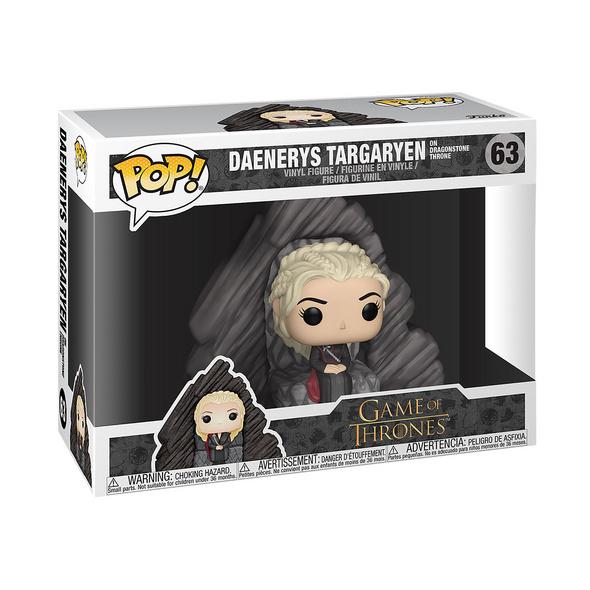 Game of Thrones - Daenerys auf Drachenstein Thron Funko Pop Figur