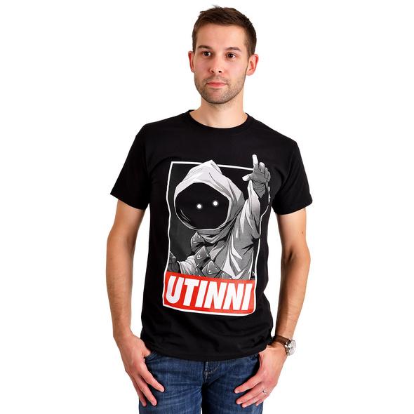 Star Wars - Jawa Utinni T-Shirt schwarz