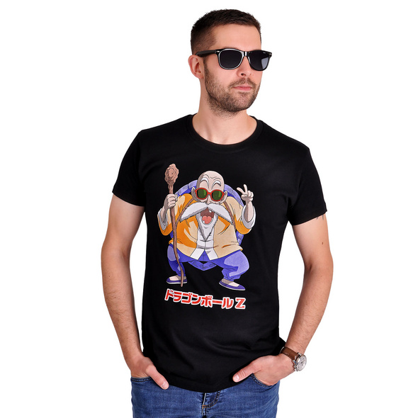 Dragon Ball Z - Muten Roshi T-Shirt schwarz