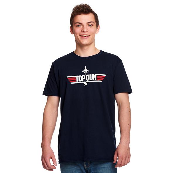 Top Gun - Logo T-Shirt blau