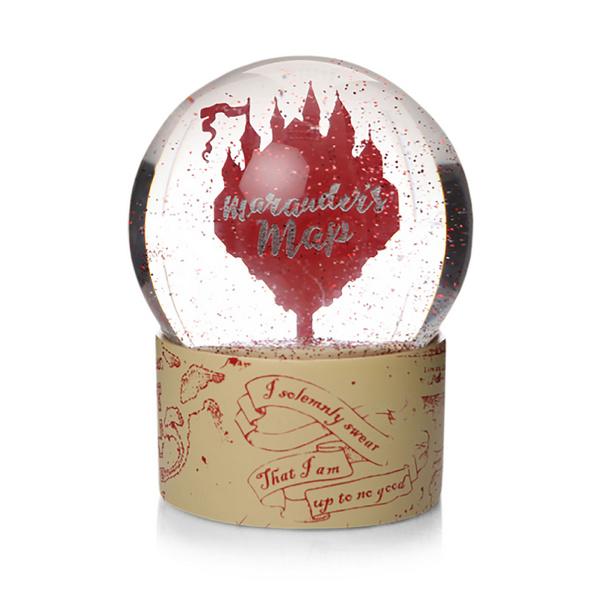 Harry Potter - Karte des Rumtreibers Schneekugel mit Glitter