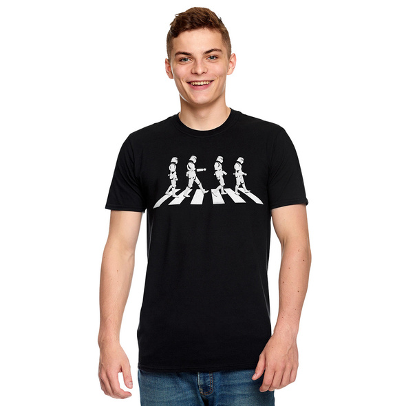 Original Stormtrooper Crossing T-Shirt schwarz