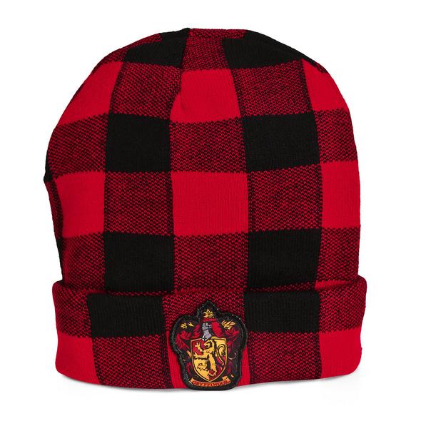 Harry Potter - Gryffindor Wappen Karo Mütze