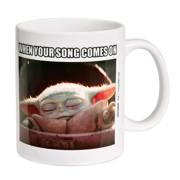 The Child Your Song Comes On Tasse - Star Wars The Mandalorian