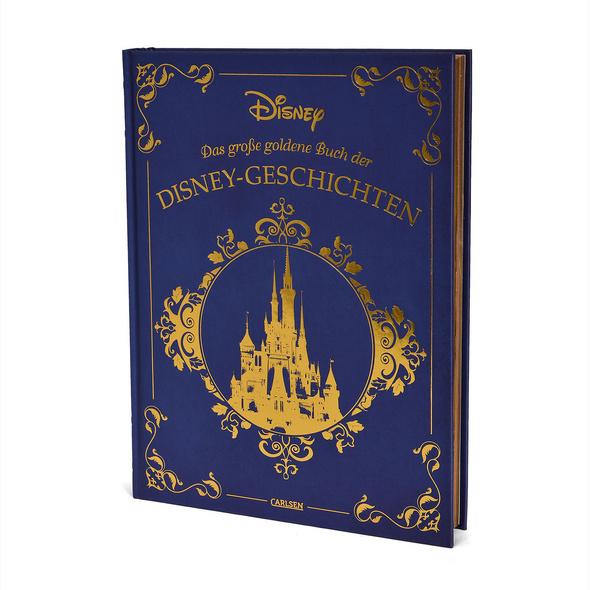 Das große goldene Buch der Disney-Geschichten