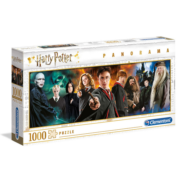 Harry Potter - Characters Panorama Puzzle