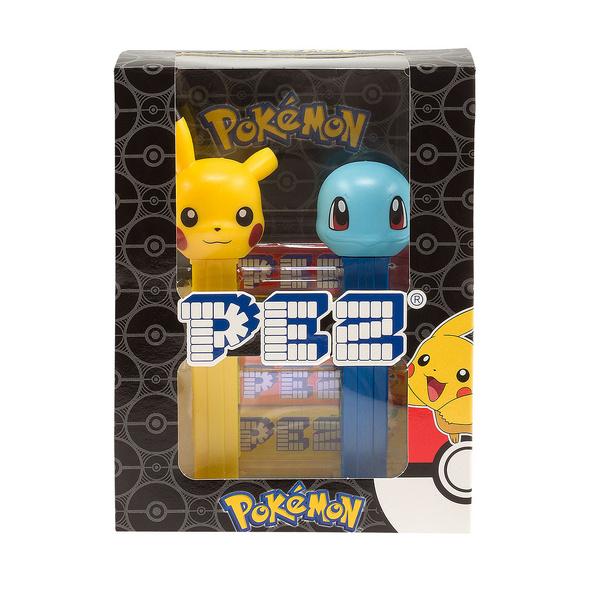 Pokemon - PEZ Bonbons 4er Pack mit 2 Spendern