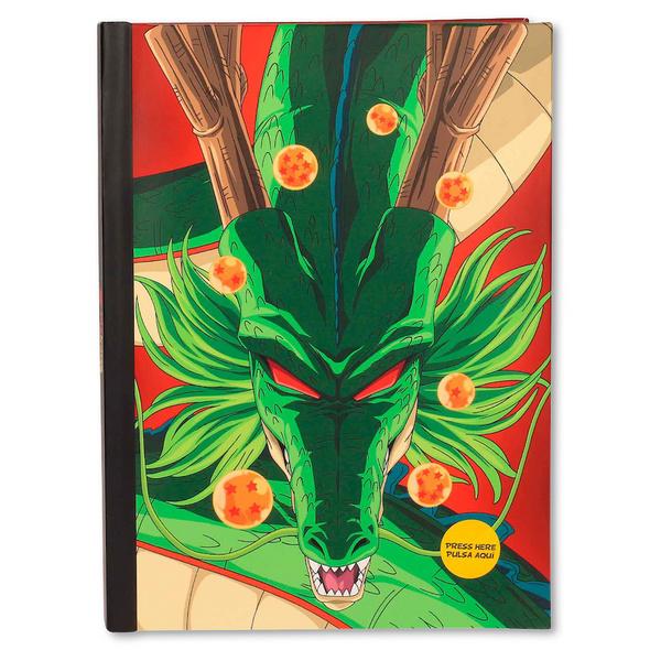 Dragon Ball - Shenlong Notizbuch mit Lichteffekten A5