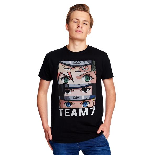 Naruto - Team 7 T-Shirt schwarz