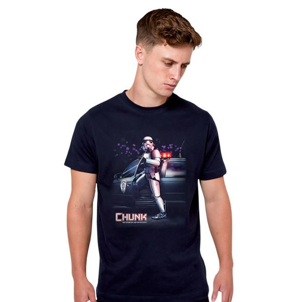 Robo Chunk T-Shirt für Star Wars Fans blau