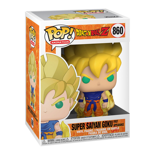 Super Saiyajin Goku Funko Pop Figur - Dragon Ball Z