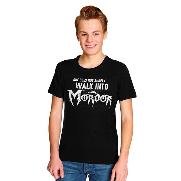 Herr der Ringe - Walk Into Mordor T-Shirt schwarz