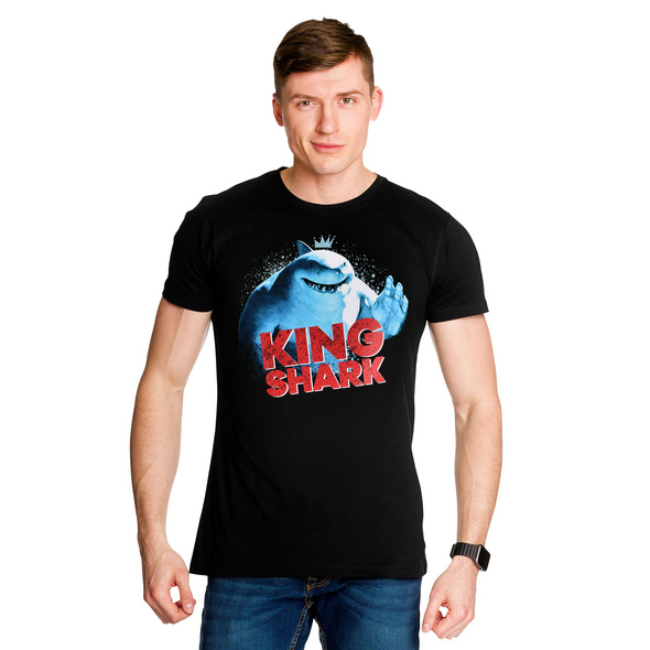Suicide Squad - King Shark T-Shirt schwarz