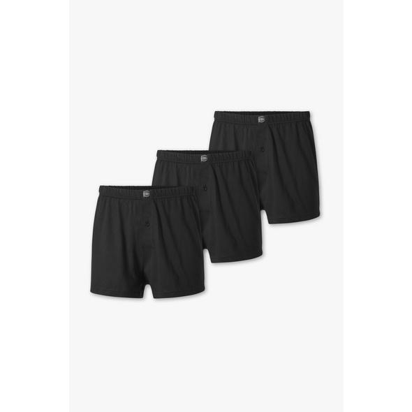 Multipack 3er - Boxershorts - Jersey - Bio-Baumwolle