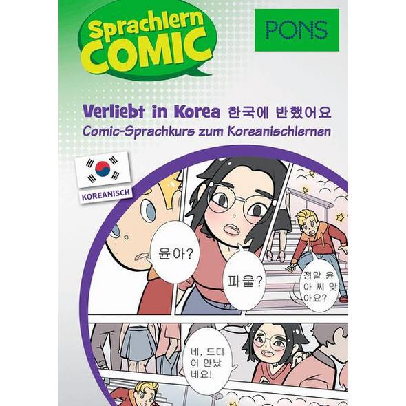 PONS Sprachlern-Comic Koreanisch - Verliebt in Korea