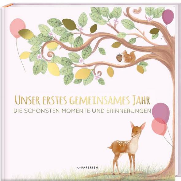 Babyalbum - Unser Erstes Gemeinsames Jahr (rosé)
