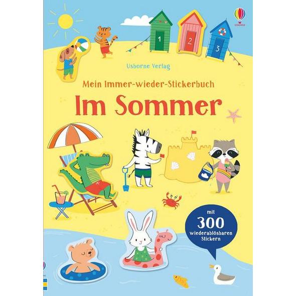 Mein Immer-wieder-Stickerbuch: Im Sommer