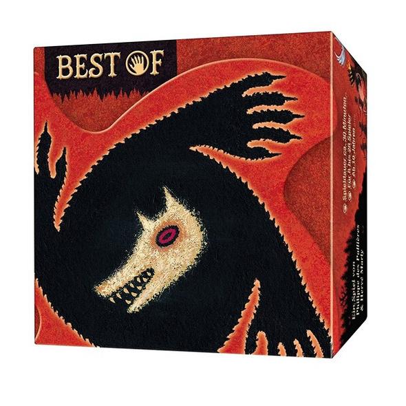 Asmodee LUI0001 - Die Werwölfe vom Düsterwald - Best of, Kartenspiel