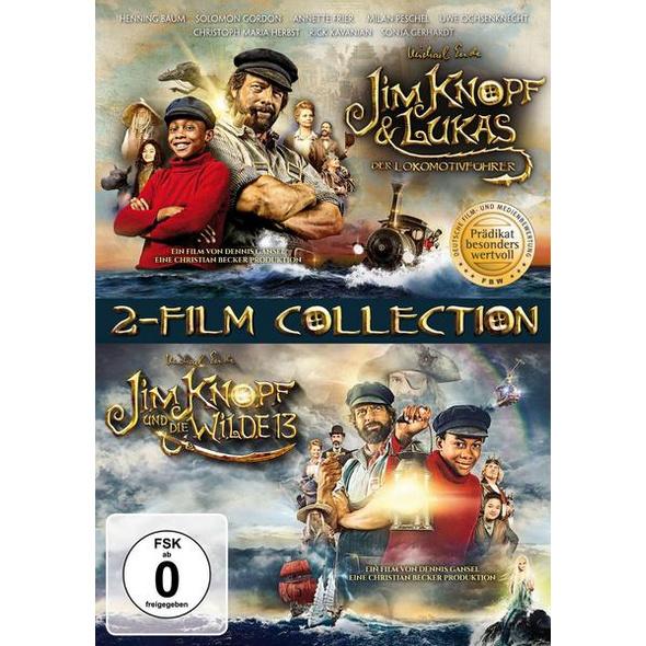 Jim Knopf & Lukas der Lokomotivführer + Jim Knopf und die Wilde 13  [2 DVDs]