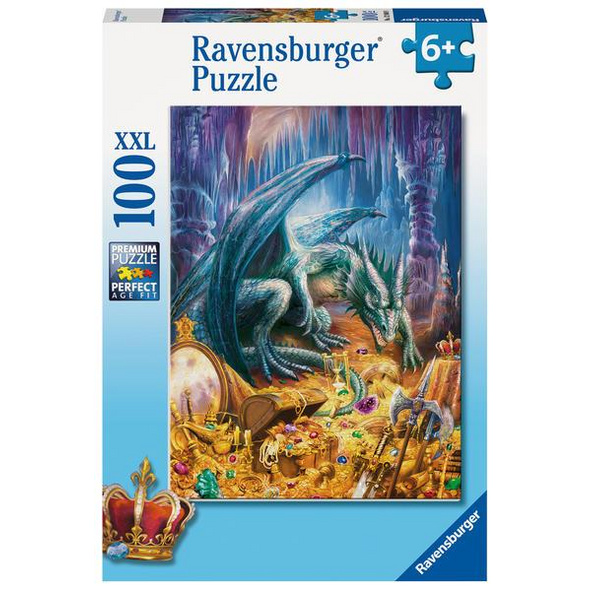 Ravensburger 12940 - Der Höhlendrache, Kinderpuzzle, 100 XXL-Teile