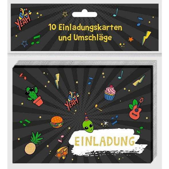 Einladungskarten - Funny Patches