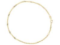 Fußkettchen - Gold Twirl