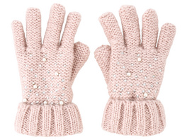Kinder Handschuhe - Pearly Chic