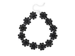 Kette - Dark Flowers