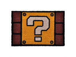 Super Mario - Fragezeichen Fußmatte
