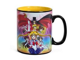 Sailor Moon - Group Thermoeffekt Tasse