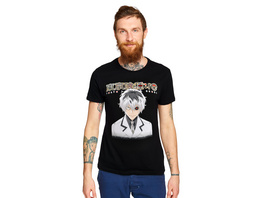 Tokyo Ghoul - Ken Kaneki mit Kakugan T-Shirt schwarz