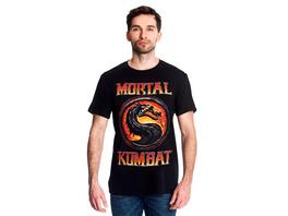 Mortal Kombat - Logo T-Shirt schwarz