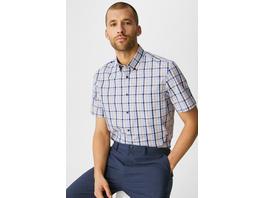 Businesshemd - Regular Fit - Button-down - Bio-Baumwolle