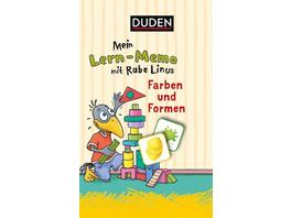 Mein Lern-Memo mit Rabe Linus - Farben und Formen (Kinderspiele)