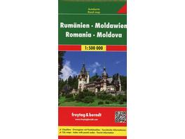 Rumänien, Moldawien 1 : 500 000. Autokarte