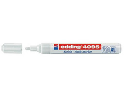 Edding 4095 Kreidemarker Window Marker 2-3mm weiß